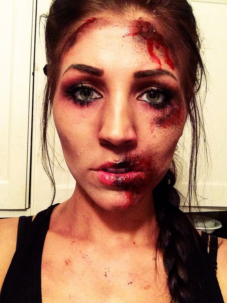 1000+ Ideas About Zombie Halloween Makeup On Pinterest