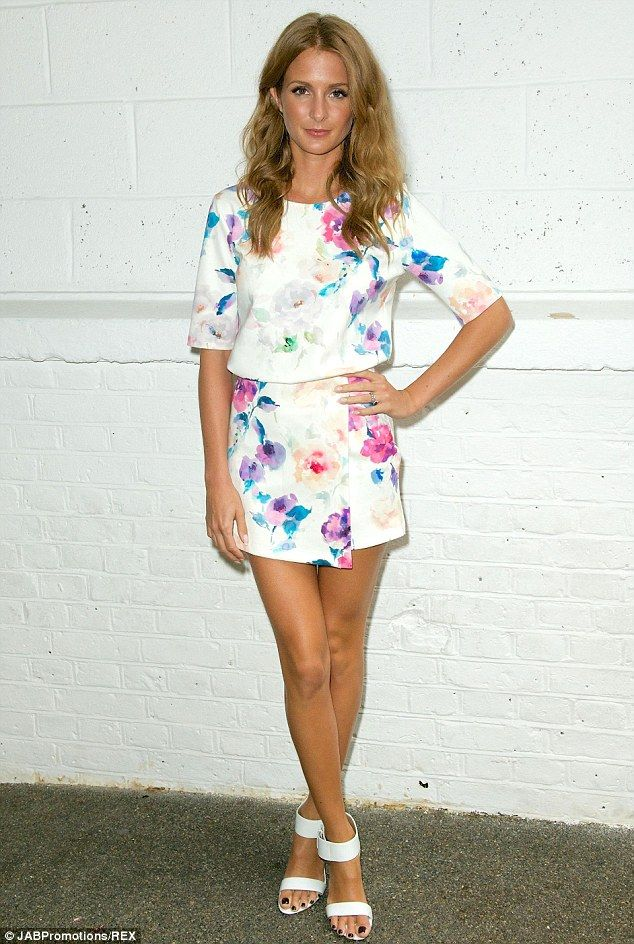 Show off your pins in a floral co-ord like Millie #DailyMail