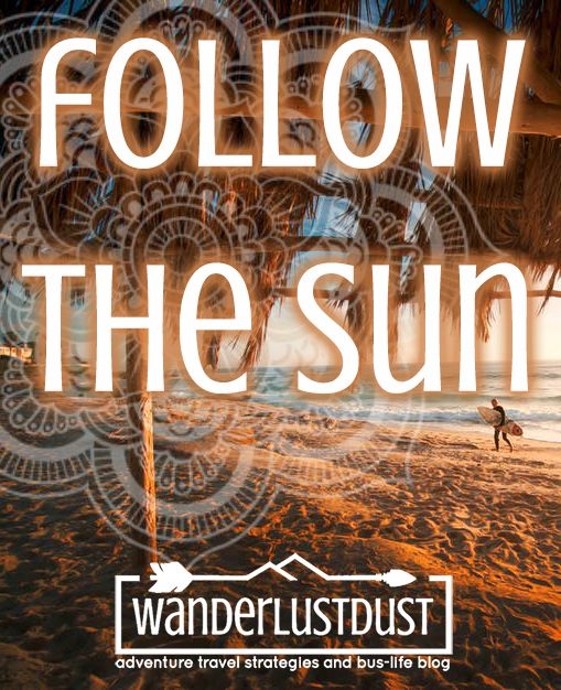 Wanderlustdust | adventure travel strategies and bus-life blog. Ready for an adventure? Head to the website and sign up for our free report :) http://wanderlustdust.com.au/ camping, road trips, backpacking, adventure travel, travel outfits, traveling with children, traveling with babies, bus life, full time RV, full time travel, motivation to travel, how to travel, wanderlust, destination, love, boho, bohemian, gypsy, hippie, indie, folk, chill, vibe, one love