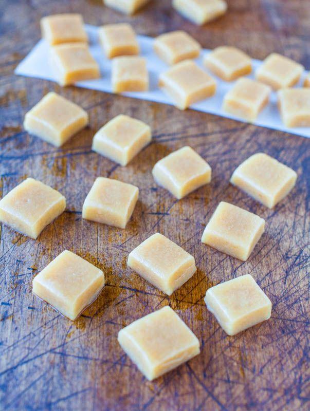 Seven Minute Microwave Caramels @Averie Sunshine {Averie Cooks}