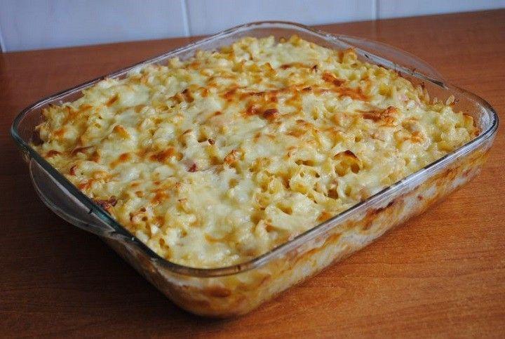Gyors sajtos sonkás tejfölös tészta – Ez nálunk is bevethető, finom, gyors ebéd! - MindenegybenBlog