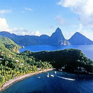 St. Lucia...Pitons  Best island I've been to by far!