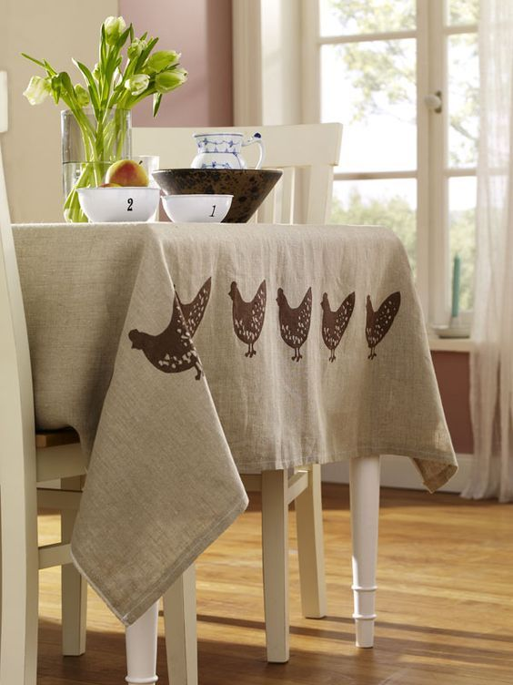 "magicalhome: "" Casual country tablecloth. wunderweib.de """