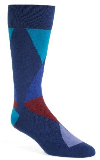 Paul Smith Men's Geo Geometric Socks