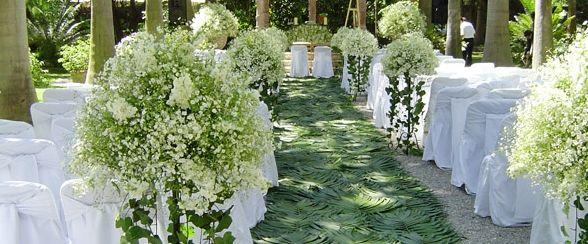 Arreglo de flores para boda iglesia buscar con google - Arreglos florales para bodas ...