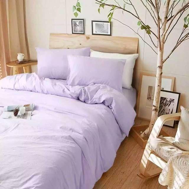 Lavender Purple Linen Duvet Cover Bed Linens Luxury Purple