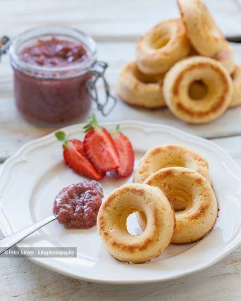 Ketogenic-Paleo Coconut Donuts