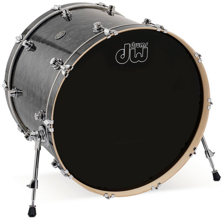 "DWDRPF1824KK 18"" x 24"" Performance Series HVX Bass Drum in FinishPly Finish"