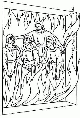 Sadrac Mesac y Abednego en el