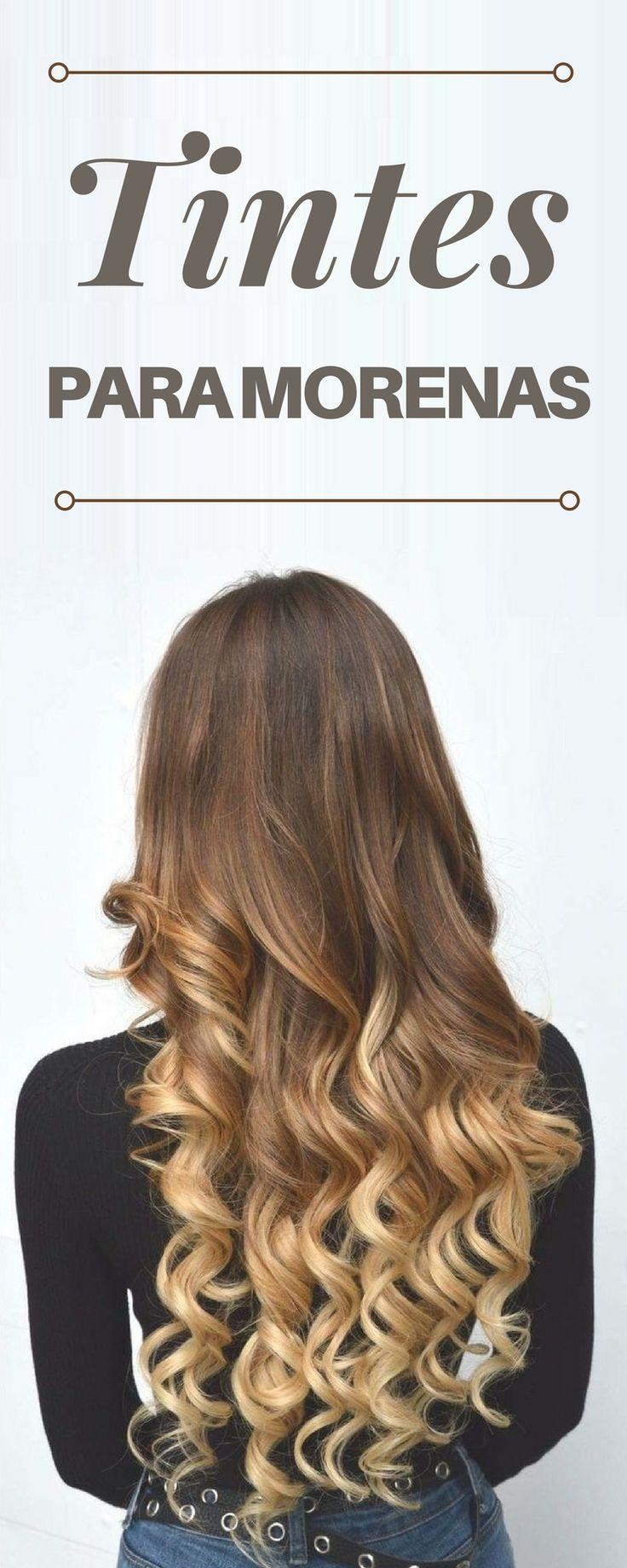 Si eres de piel morena, estos tintes harán que tu cabello luzca increíble.  Tintes de cabello para morenas | Tintes de cabello degradado |  Tintes de cabello de moda | #cabello #fashionista