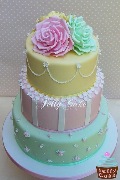 41 best Pastel Wedding Cakes images on Pinterest Biscuits