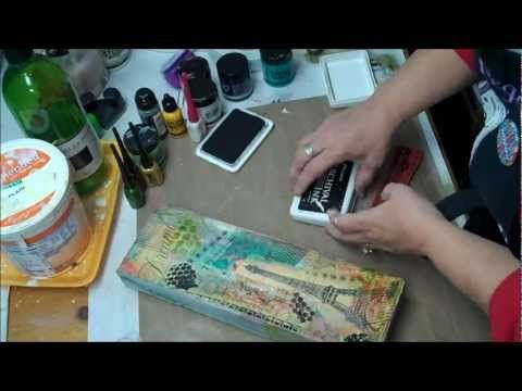Scrap Time - Ep. 754 -- My Stamp Box and a Faber-Castell Gelato Technique - YouTube