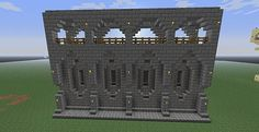 minecraft castle wall exterior | Go Back > Gallery For > Minecraft Castle Blueprints Layer By Layer