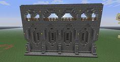 Best 25 minecraft wall designs ideas on pinterest for Minecraft exterior wall design