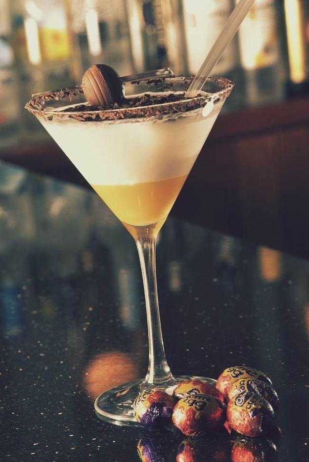 Creme Egg Cocktail | 17 Scrumptious Ways To Eat A Creme Egg