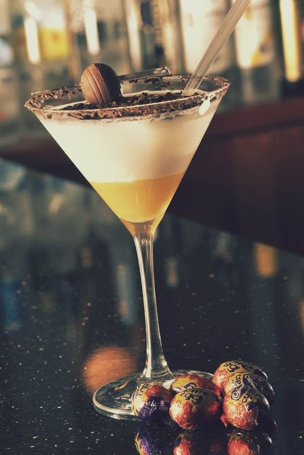 Creme Egg Cocktail | 17 Scrumptious Ways To Eat A Creme Egg