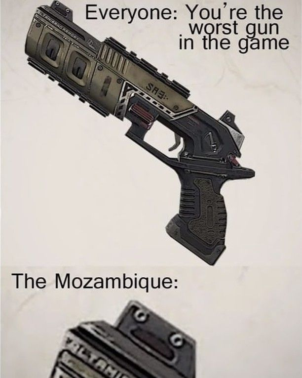When You Realize The Mozambique Is The Worst Gun In Apex Legends