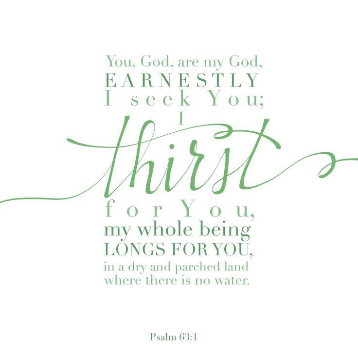 Psalm 63:1