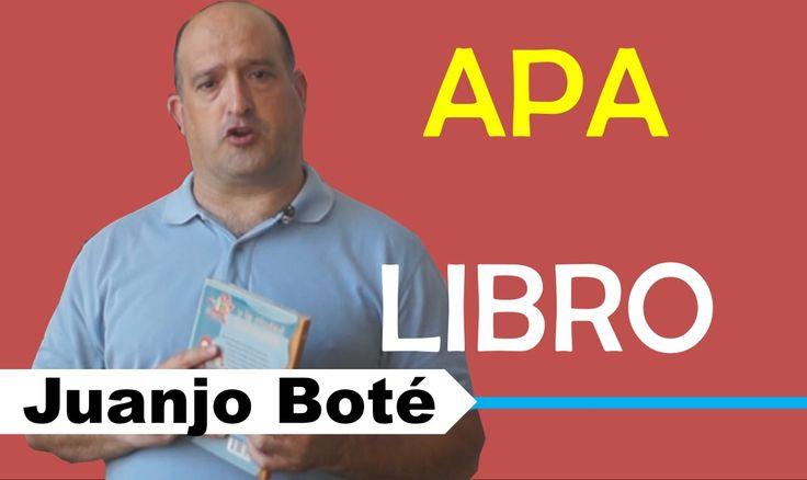 How to cite a book in APA style Como citar un libro con normas APA #APA #BOOK, #CITATION, #REFERENCE #BIBLIOGRAPHY