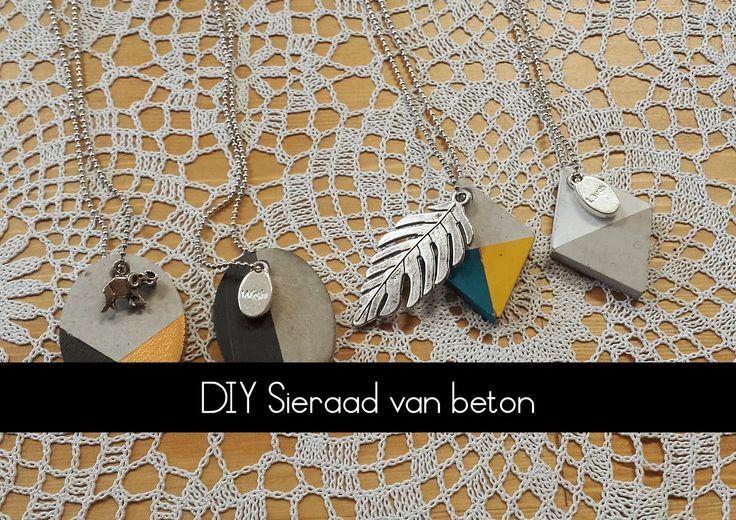 In deze video laat ik jullie zien hoe je van beton hele leuke sieraden kunt maken. Het sieraadbeton en de mallen zijn te koop bij: http://www.homemade4u.nl/H...