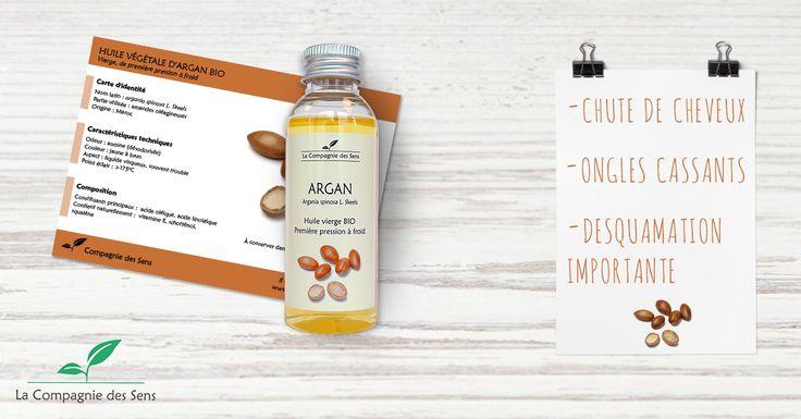 Le couteau suisse de l'aromathérapie, c'est bien l'huile d'Argan ! retrouvez toutes ces utilisations sur notre site ! #compagniedessens #hv #argan