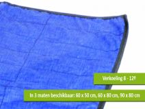 Koeldeken blauw 60  Description: Kerbl Koeldeken blauw 60Geef uw huisdier tijdens warmte extra verkoeling door ze op een koelmat te leggen. Deze koelmat is ideaal voor op de camping in de woonkamer auto of op het strand. De koelmat geeft uw hond kat konijn of ander huisdier verkoeling op een veilige en verantwoorde manier. Deze verkoelingsmat maakt uw hond 8 tot 12 graden koeler.Koeldeken voor hondenDeze koelmat is te gebruiken zonder een vriezer. U dompelt de koeldeken onder water en wacht…