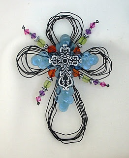 a whole range of gorgeous upcycled crosses