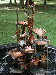 Copper Fountains For You Garden