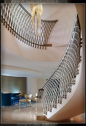 WOW!!!!  Dorchester Hotel staircase by mrs. sparkle
