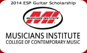 2014 ESP Guitar Scholarship for International Students, and applications are submitted till August 29, 2014. The ESP Guitar Company is sponsoring an associate scholarship program for fall 2014. International and U.S. citizens are eligible for this associate scholarship. - See more at: http://www.scholarshipsbar.com/2014-esp-guitar-scholarship.html#sthash.r9l9seVQ.dpuf