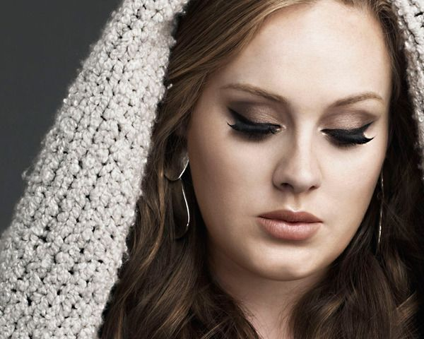 cat eye make up: Music, Makeup Tutorials, Make Up, Eye Makeup, Songs, Things, Beautiful People, Hair, Adele Makeup