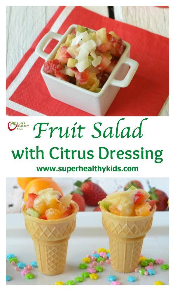 fruit salad dressing is fresh fruit juice healthy