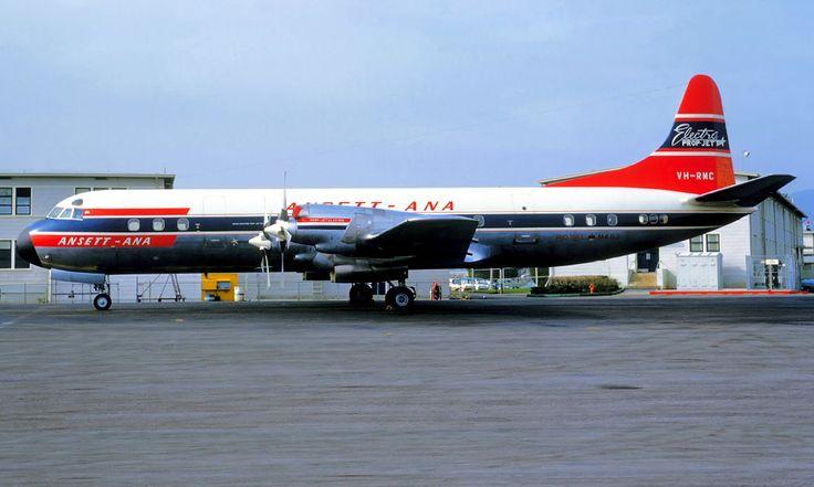 Lockheed 188 Electra VH-RMC Ansett