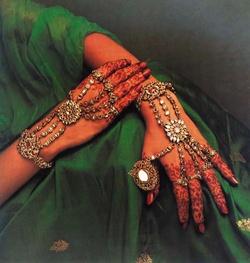 Bridal Jewellery - angoothi and haath phool