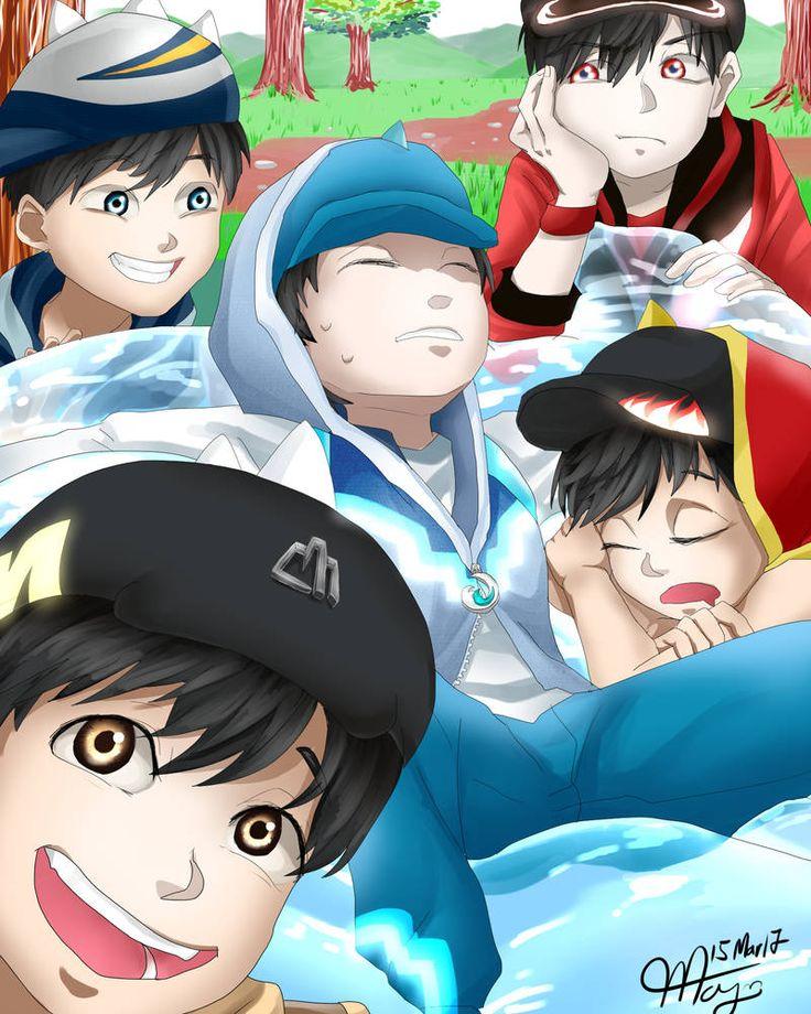 Pin di Boboiboy anime