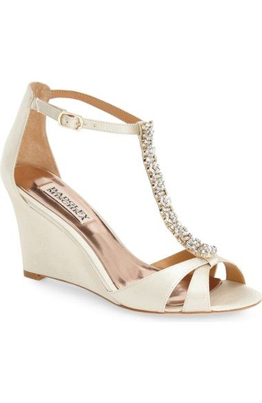 Badgley Mischka Romance Wedge Sandal Women