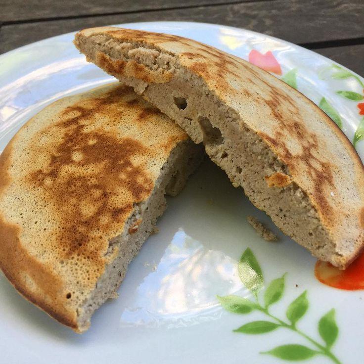 """1,115 curtidas, 52 comentários - Fernanda Scheer (@fernandascheernutri) no Instagram: """"Que tal fazer seu pão? 🍞 Na frigideira e em 5 minutos? Melhor ainda 💃 Pão de frigideira 🍳 ▶️ 1 ovo…"""""""