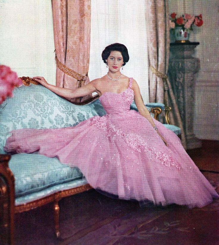 Tea time at winter palace, Princess Margaret Rose