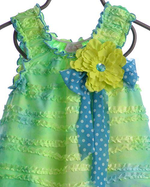 Cach Cach Summer Capri Outfit - Tropical Punch (12Mos & 24Mos)
