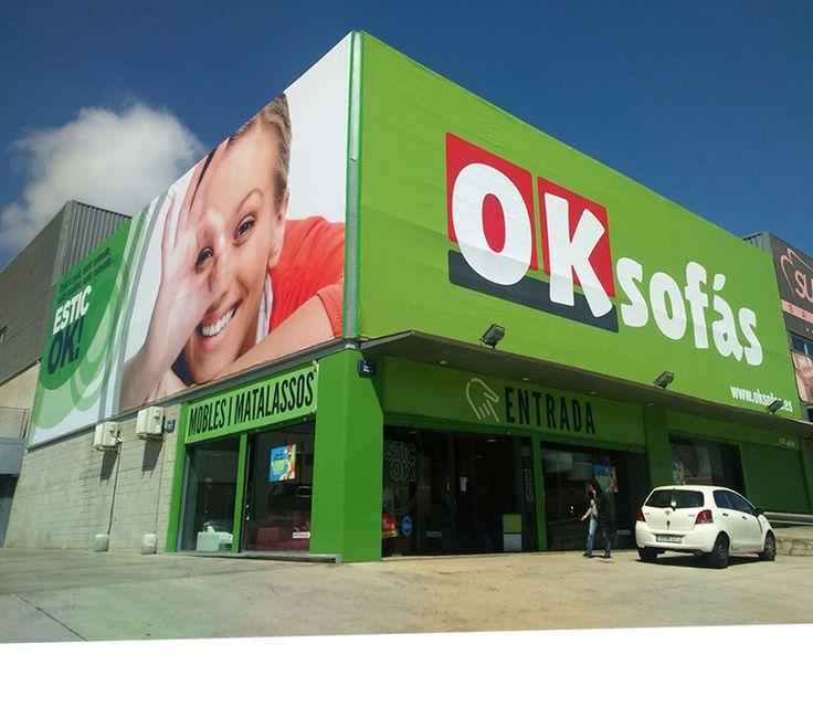 Tienda #OKSofas en #Montigala