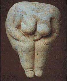 Diosa Madre. Neolítico. Turquía.