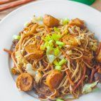 Simple Pancit Palabok is a version wherein you can make your own palabok or luglog by using the minimum ingredients possible. What makes this palabok recipe good is the idea that you can have the same delicious pancit palabok taste using fewer ingredients, which leads to a lower costs. Consider this as a budget palabok recipe.