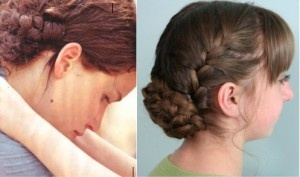 Katniss' Reaping Braids {from The Hunger Games movie} in just a few minutes!French Braids, Katniss Reap, Braids Hairstyles, Hair Tutorials, Cute Girls Hairstyles, Reap Braids, Hunger Games, Hair Style, Games Hairstyles