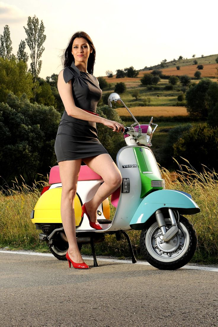 Scooters and women