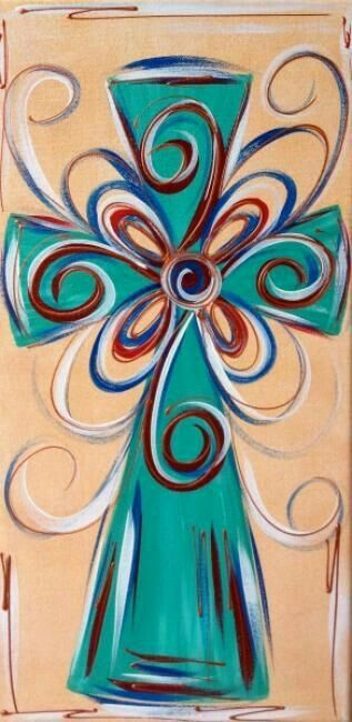 25+ best ideas about Cross canvas paintings on Pinterest | Cross canvas art, Cross art and ...