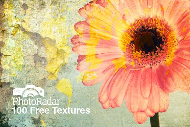 100 Free Textures for photo editing in Photoshop