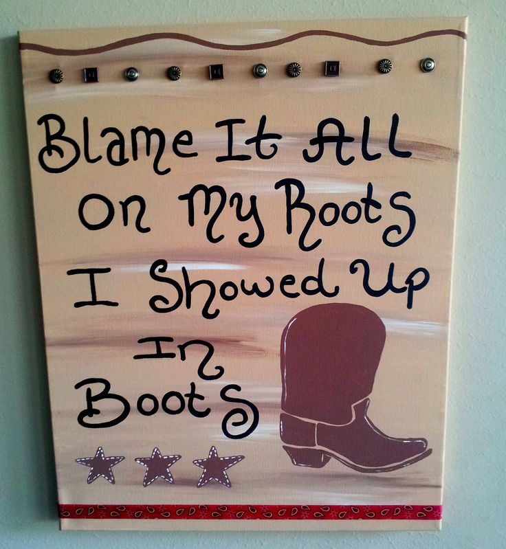 Nursery Wall Art, Kids Room, Children's Room Decor, Western Decor, Lyric Canvas, Song Art, Quotes. $45.99, via Etsy.