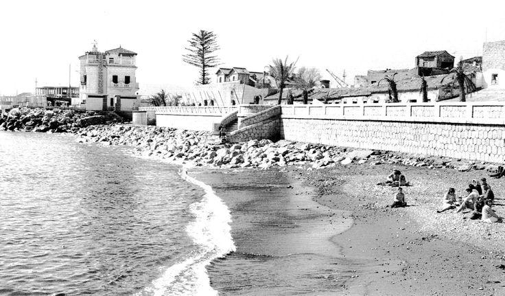 Playa de la Malagueta ANCIENT MALAGA-SPAIN