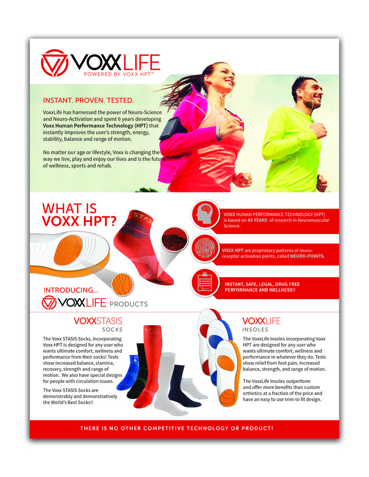 A quick description of Voxx products