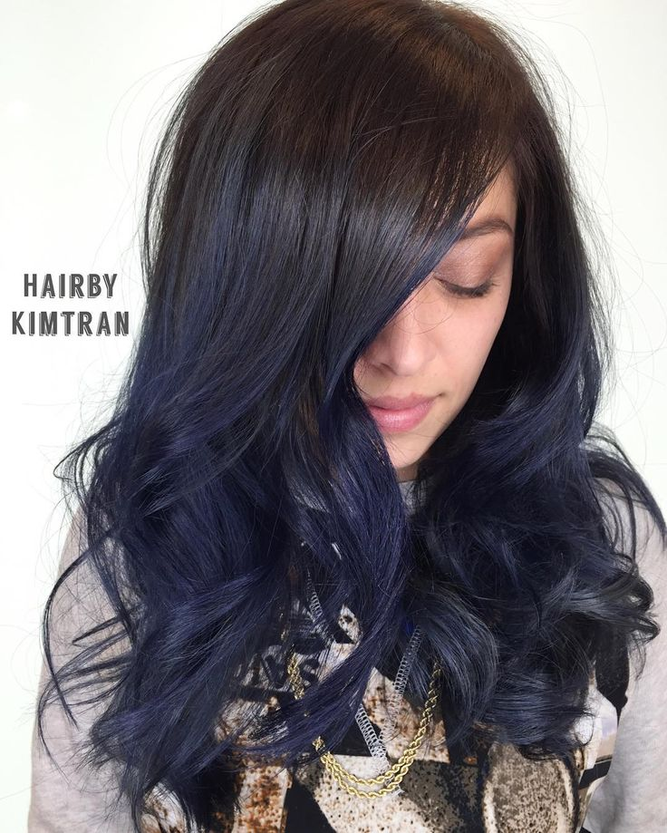 Midnight Brown Hair Color